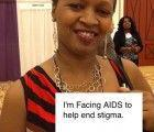 """Photo: A Facing AIDS photo from the U.S. Conference on AIDS: """"I'm Facing AIDS to help end stigma.""""  Thank you everyone who participated! You can see all the photos at http://facing.aids.gov (click on the gallery), and download the free Facing AIDS iPhone app to share your message from home."""