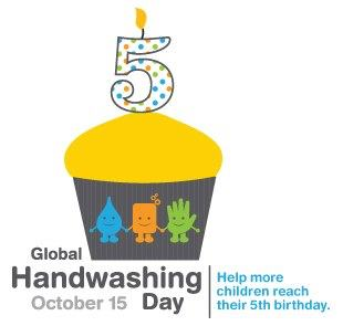 Photo: Global Handwashing Day is October 15! Celebrate with over one million schools around the world. #iwashmyhands http://is.gd/WzTcso