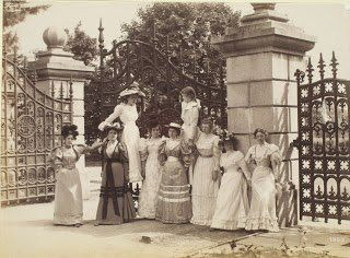 """Photo: What became of Miss Ida F. Drew of the Ogontz School for Girls? Associate Curator of Prints and Photographs, Erika Piola answers this in her latest blog post """"Revisiting the Past.""""  http://www.librarycompany.org/about/press/lcpblog.htm"""