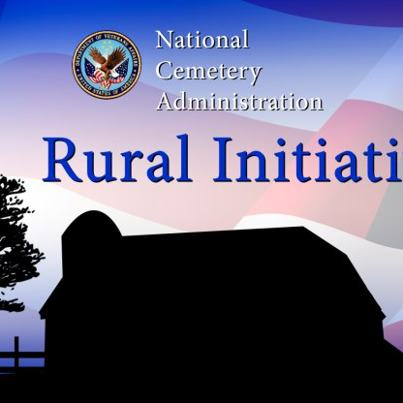 Photo: The Department of Veterans Affairs (VA) is moving forward with a plan to provide full burial services to small rural Veteran populations where there is no available burial option from either a VA national, state or tribal Veterans cemetery. The Rural Initiative plan is to build small National Veterans Burial Grounds in rural areas where the unserved Veteran population is less than 25,000 within a 75-mile radius. VA's current policy for establishing new national cemeteries is to build where the unserved Veteran population is 80,000 or more within a 75-mile radius.  Over the next six years VA plans to open eight National Veterans Burial Grounds in the Fargo, North Dakota; Rhinelander, Wisconsin; Cheyenne, Wyoming; Laurel, Montana; Idaho Falls, Idaho; Cedar City, Utah; Calais, Maine; and Elko, Nevada areas. A National Veterans Burial Ground will be a small three to five acre NCA-managed section within an existing public or private cemetery. NCA will provide a full range of burial options and control the operation and maintenance of these lots. These sections will be held to the same National Shrine Standards as VA national cemeteries.  VA estimates that there are nearly 136,000 Veterans within the 75-mile area service radius of the eight locales identified to receive a National Veterans Burial Grounds. Increasing access to burial benefits will help NCA to reach its strategic goal to make a VA burial option available to 94 percent of Veterans within a reasonable distance (75 miles) of their residence.