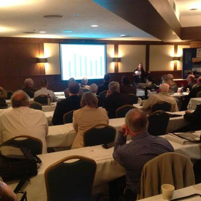Photo: This week's GLMRI meeting in Duluth ends today. The closing discussions on new developments in the Great Lakes Maritime information delivery system are proving to be a fascinating bookend to a wonderful workshop.