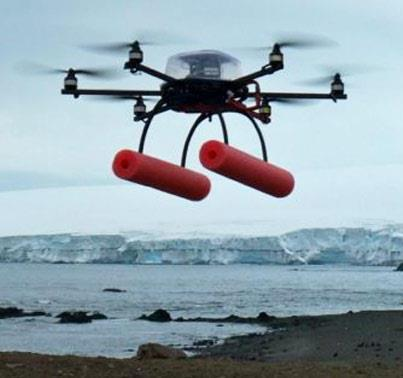 Photo: What's that hovering above? It's more NOAA science. Get the science behind aerial drones and what they mean for a new era of marine mammal research. http://1.usa.gov/RcxEMX