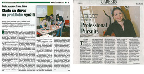 Students in print