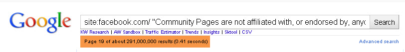 Site Query Equals 219 000 000 Results