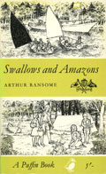 Cover of 'Swallows and Amazons'