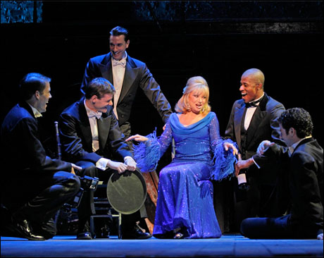 Elaine Paige and company