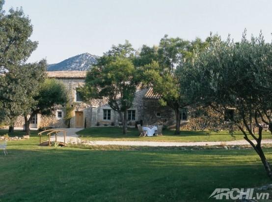 Giản dị với nhà theo phong cách Pháp - Archi
