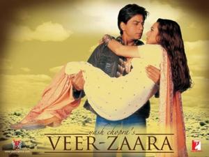 Movie poster of Veer Zaara
