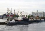 Yury Dolgoruky Borey class strategic nuclear submarine