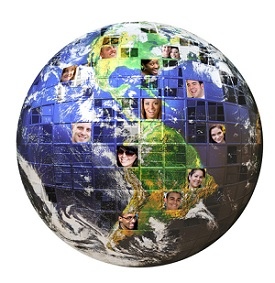Social Networking Globe