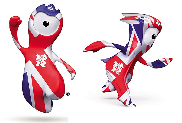 History of Wenlock and Mandeville Mascots