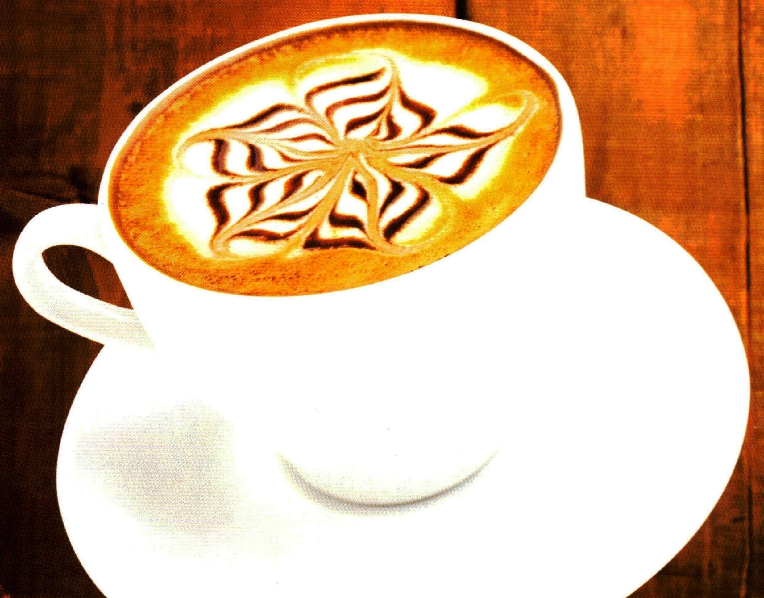 latte Этот удивительный кофе...