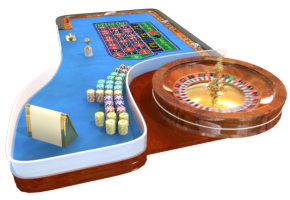 Picture of a winning roulette table