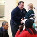 President Obama and Gov. Chris Christie talked with residents recovering from Hurricane Sandy in New Jersey on Wednesday.