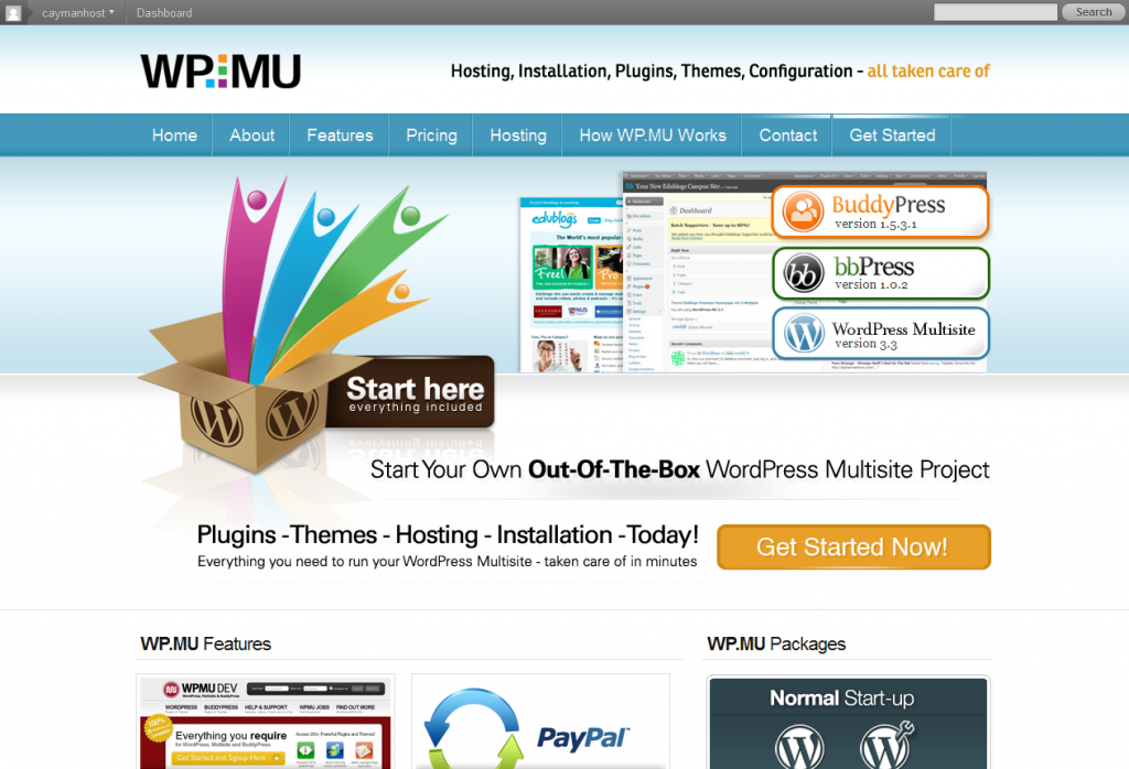 WordPress Multisite BuddyPress and bbPress Installation – plugins themes and hosting included 2012 02 16 12 09 12 1024x6982 Membership Sites With WordPress | Top Plugins