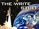 The Write Stuff: Our space blog