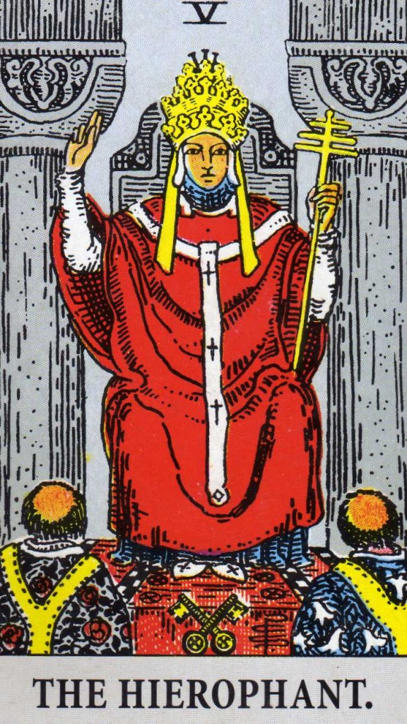 Heirophant001 576x1024  The Hierophant   Developing Your Intuition