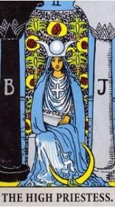 High Priestess 168x300 Intuitive Tarot Reading Interview