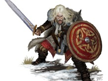 Ulf Picture  (2d, fantasy, sword, rpg, warrior, wolf, celtic, viking)