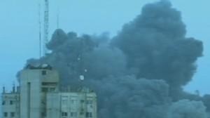 VIDEO:Violence Intensifies on Gaza Strip