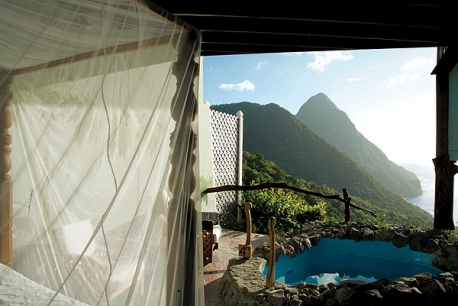 St. Lucia, Ladera Resort