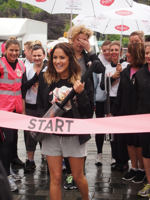 Benefit Cosmetics 'Mascarathon' kicks off in Edinburgh