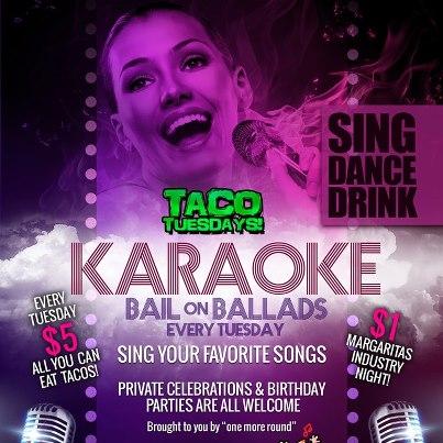 Photo: Karaoke, $5 All You Can Eat Tacos, $1 Margaritas all tonight at Columbus Biggest Service Industry Party, Taco Tuesday!! Taco Tuesday every Tuesday at Park Street Cantina!!