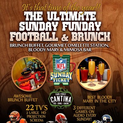 Photo: Looking ahead into this weekend, don't forget we offer a brunch buffet & DIY Bloody Mary & Mimosa bar every Sunday!!
