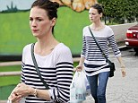 Actress January Jones makes her way to her car after shopping for some pet supplies in Los Feliz,