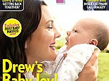 Introducing baby Olive! Drew Barrymore poses with her daughter Olive on the cover of America's People magazine