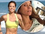 'I'm cancer free!' Brooke Burke-Charvet reveals surgery to remove disease has been a success