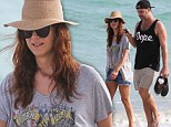 Doctor's orders! Actress Kate Walsh enjoys a well-deserved break in sunny Miami