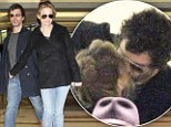 Has Renee Zellweger finally found love again? Actress spotted kissing new handsome boyfriend after couple take flight