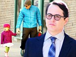 It's daddy's turn! Matthew Broderick juggles parenthood and a role on Smash... taking over for absent wife Sarah Jessica Parker