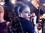 Stepping into the limelight: Lady Gaga's sister Natali Germanotta has posed for a high-end fashion shoot