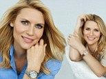 Claire Danes modelling for Casio Sheen