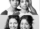 Same difference! None of pairs captured by Quebecois photographer Francois Brunelle are related by blood, their faces just have strikingly similar characteristics