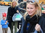 'I let out a little yelp': Naomi Watts reveals delight at Golden Globes nod for The Impossible as she celebrates son's birthday