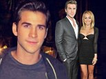 Losing his cool: Miley Cyrus's fiance Liam Hemsworth 'gets into late night street brawl and punches man in the face'