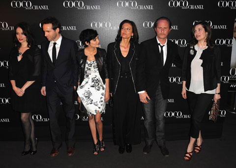 (L-R) French Actrice Marie Gillain, Alessandro Nivola, Audrey Ta