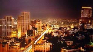 Downtown Amman (photo credit: Wikimedia commons/File)