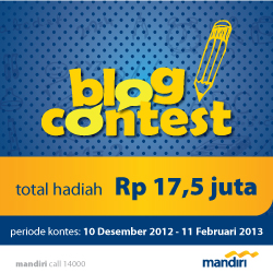 Blog Kontes Bank Mandiri