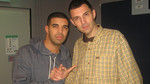 Westwood talks to Drake