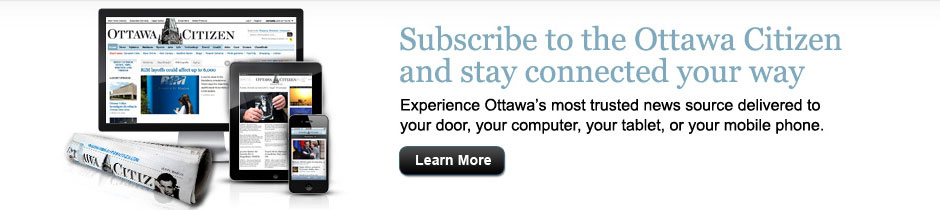 Subscribe to the Ottawa Citizen and stay connected your way