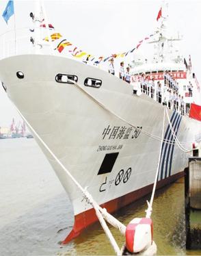 中国打造百艘大型执法船队压垮日本