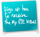 Subscribe for free to the My ESC News, your fortnightly newsletter