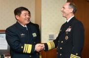 我海军副司令访美谈及环太军演