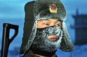 """驻守""""北极""""战士-43℃度巡逻"""