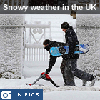 Britain hit by snow