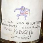 ninja tip jar